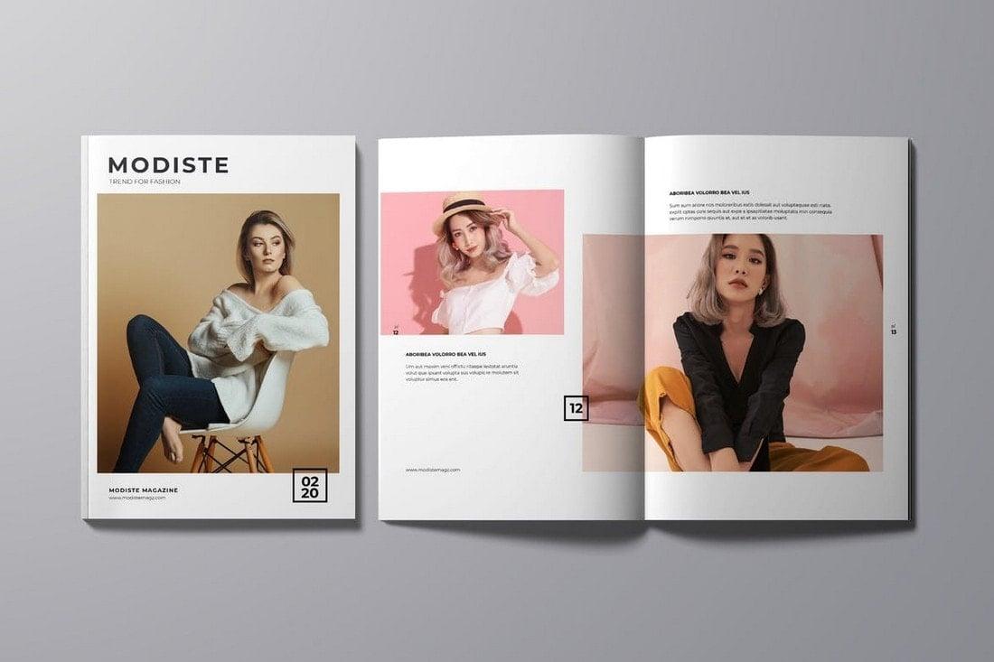 Designer-Fashion-Magazine-InDesign-Template 30+ Best InDesign Magazine Templates 2021 (Free & Premium) design tips