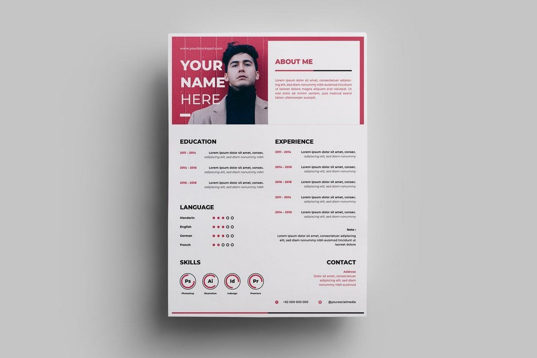 Designer-Resume-Template 50+ Best CV & Resume Templates 2020 design tips