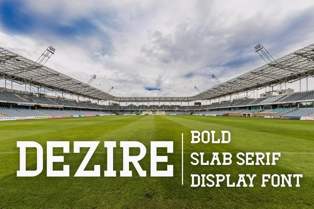 Dezire-Modern-Slab-Serif-Font 50+ Best Slab Serif Fonts of 2021 design tips