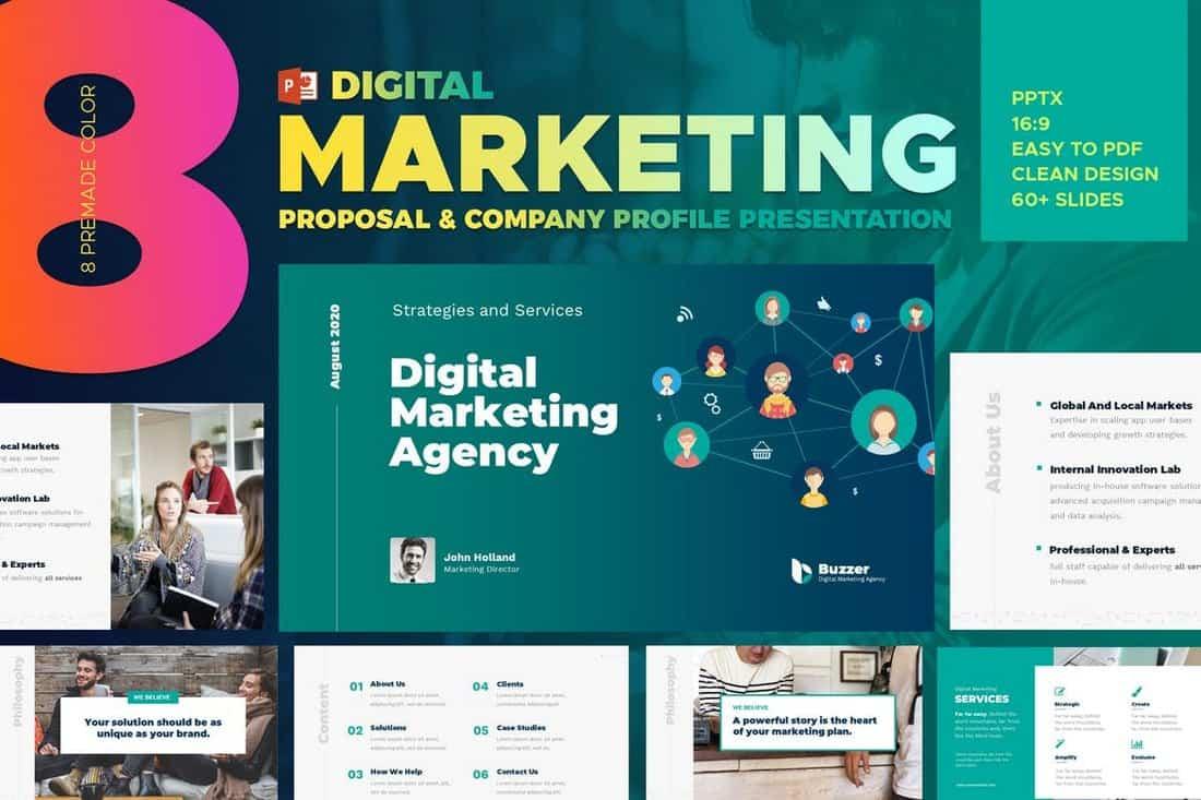 Digital Marketing Agency PowerPoint Presentation