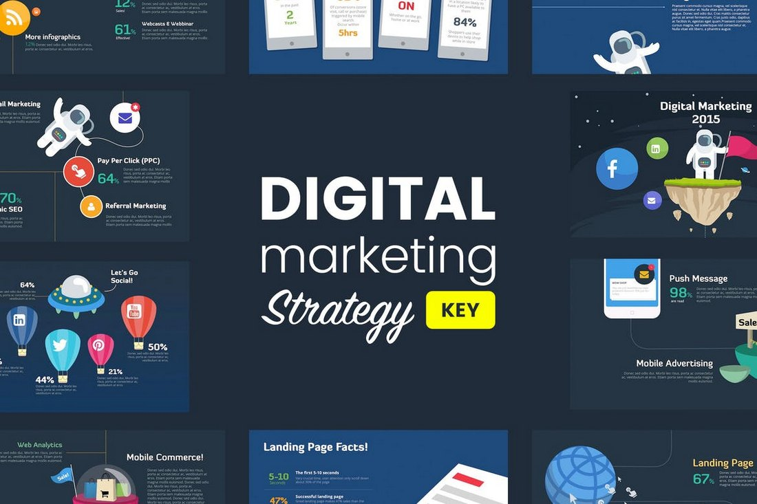 Digital-Marketing-Strategy-Animated-Keynote-Template 15+ Best Animated Keynote Templates With Stylish Transitions design tips