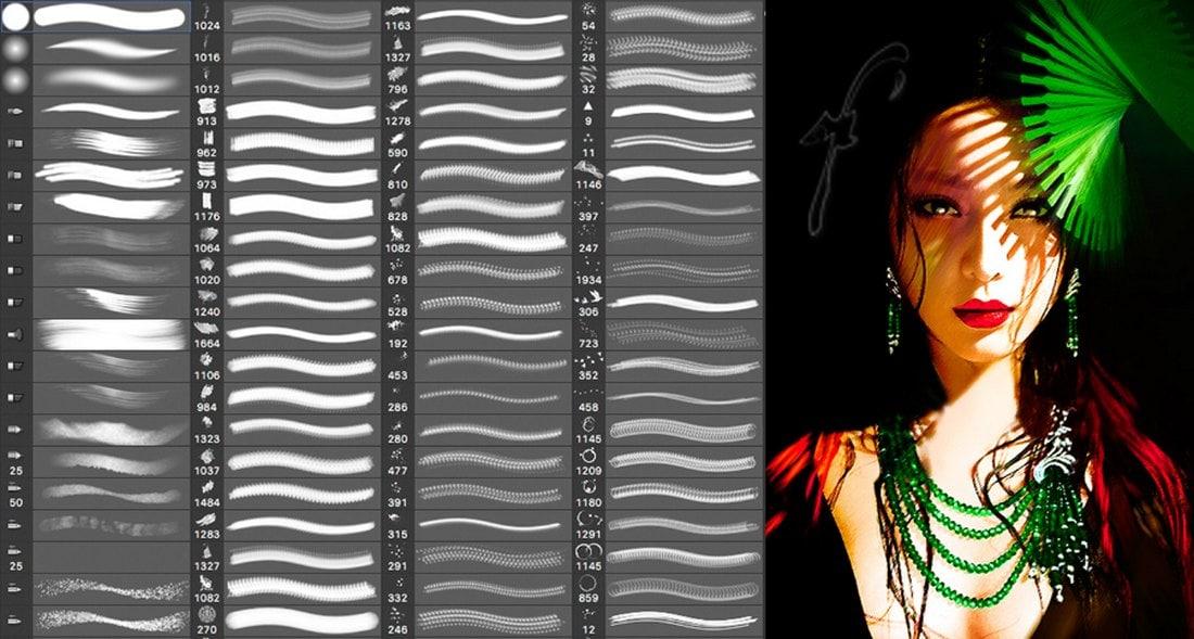Digital Painting Free Photoshop Brushes