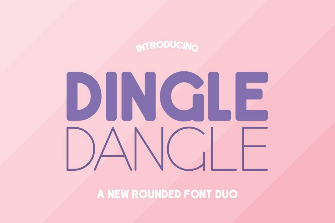Dingle Dangle Font Duo
