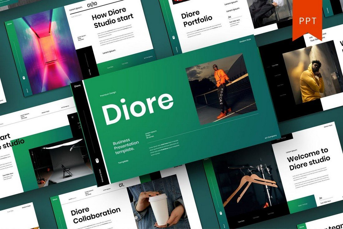 Diore – Business PowerPoint Template
