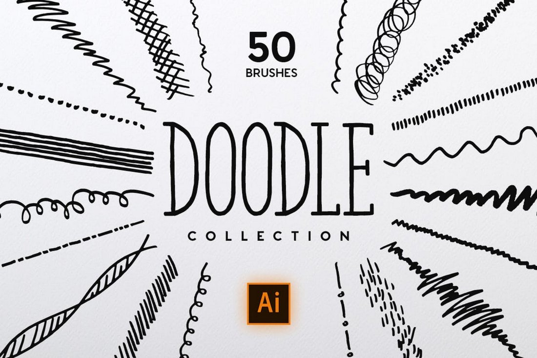 Doodle Brush Collection