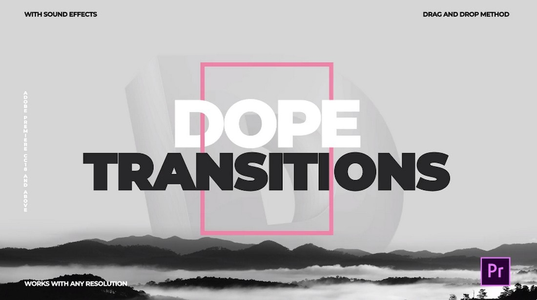 Dope-Transitions-for-Premiere-Pro 20+ Best Video Transition Effects (For After Effects + Premiere Pro) design tips