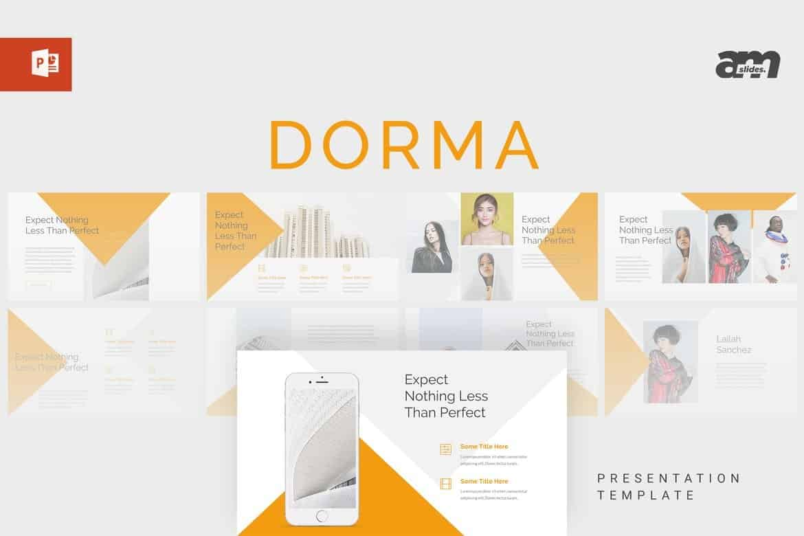 Dorma - Marketing Powerpoint Template