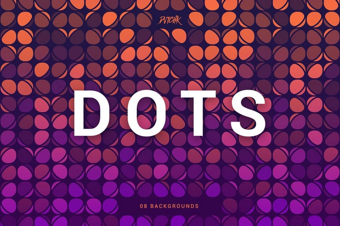Dots - Colorful Party Backgrounds