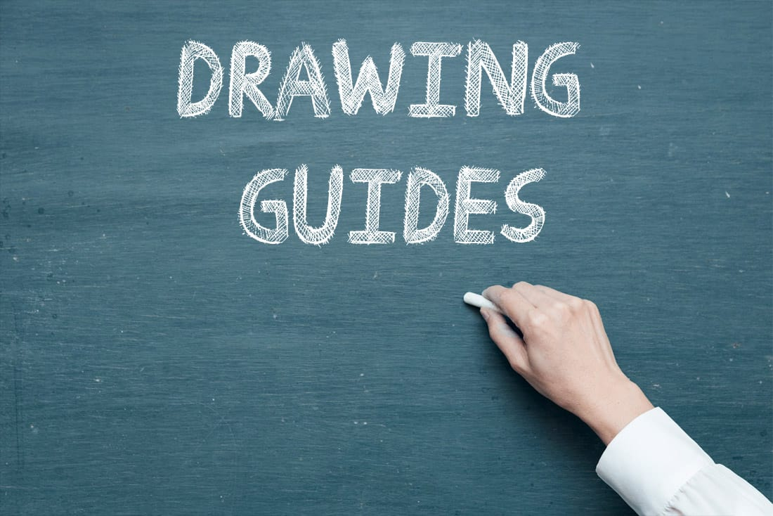 Drawing Guides - Free Chalkboard Font