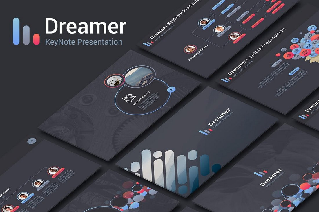 Dreamer KeyNote Template