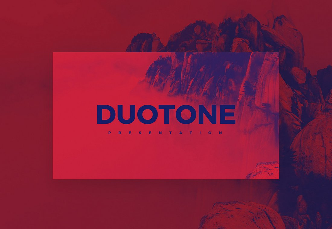 Duotone-Free-Creative-PowerPoint-Template 50+ Best PowerPoint Templates of 2020 design tips