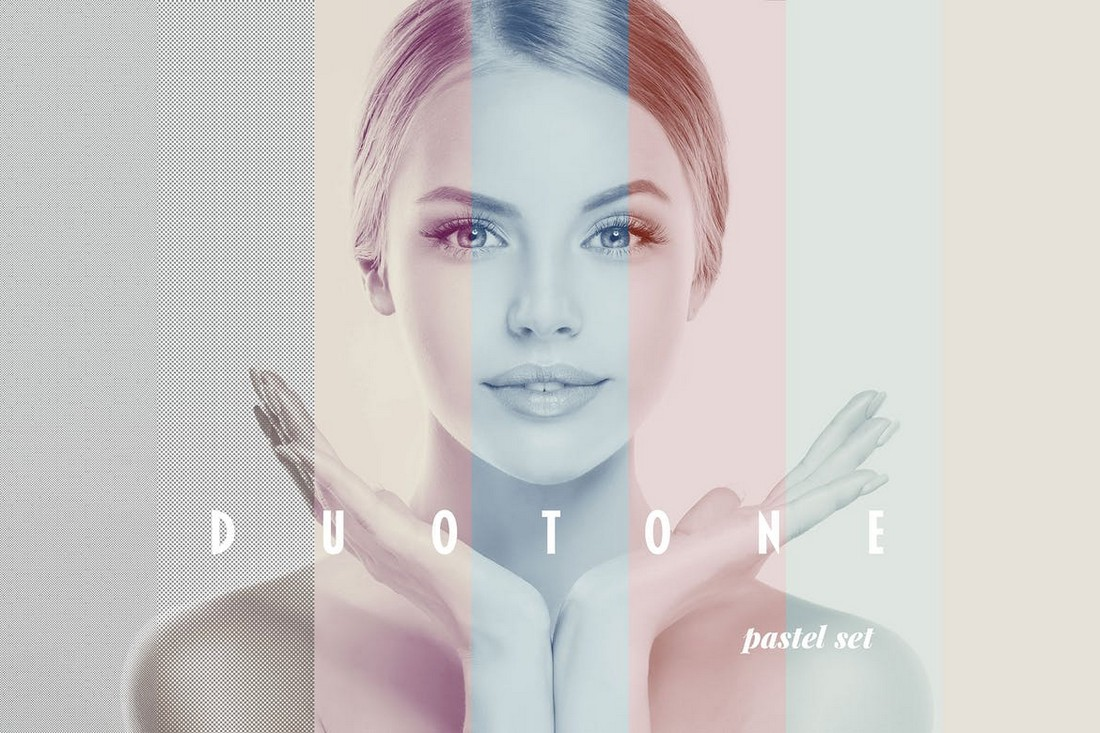 Duotone Photo Effect PSD Layer Style
