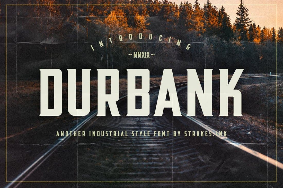 Durbank-Industrial-Font 30+ Best Fonts for Signs design tips  Inspiration
