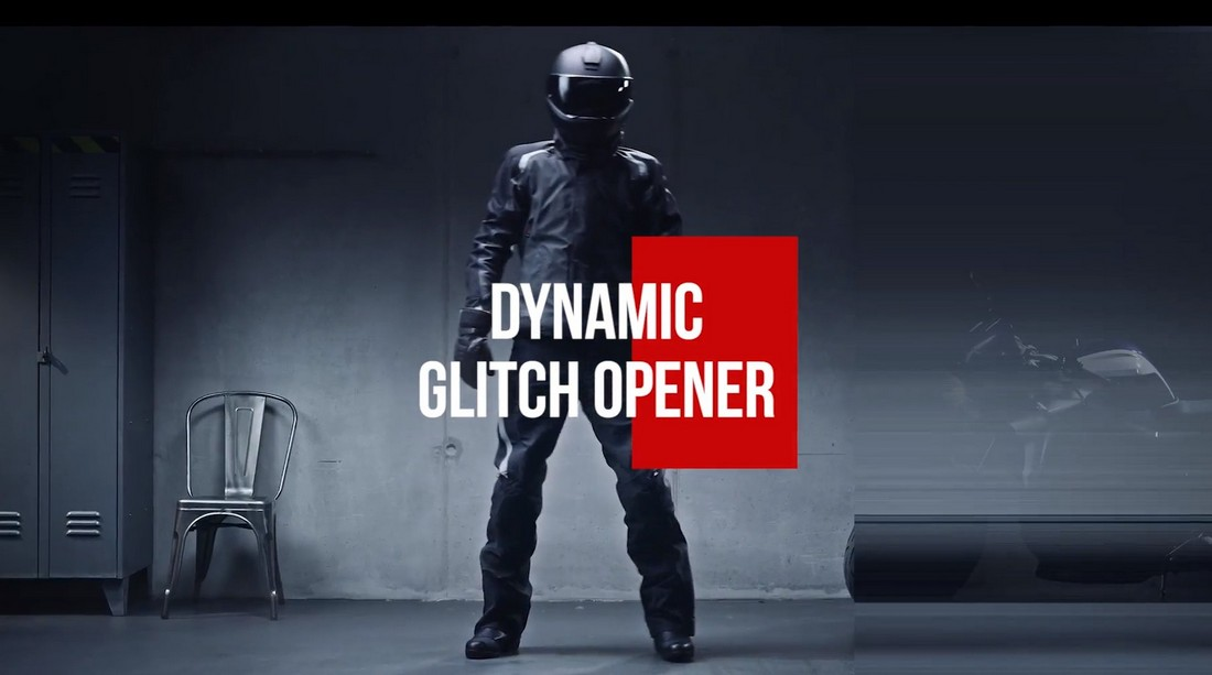 Dynamic Glitch Opener - Premiere Pro Template