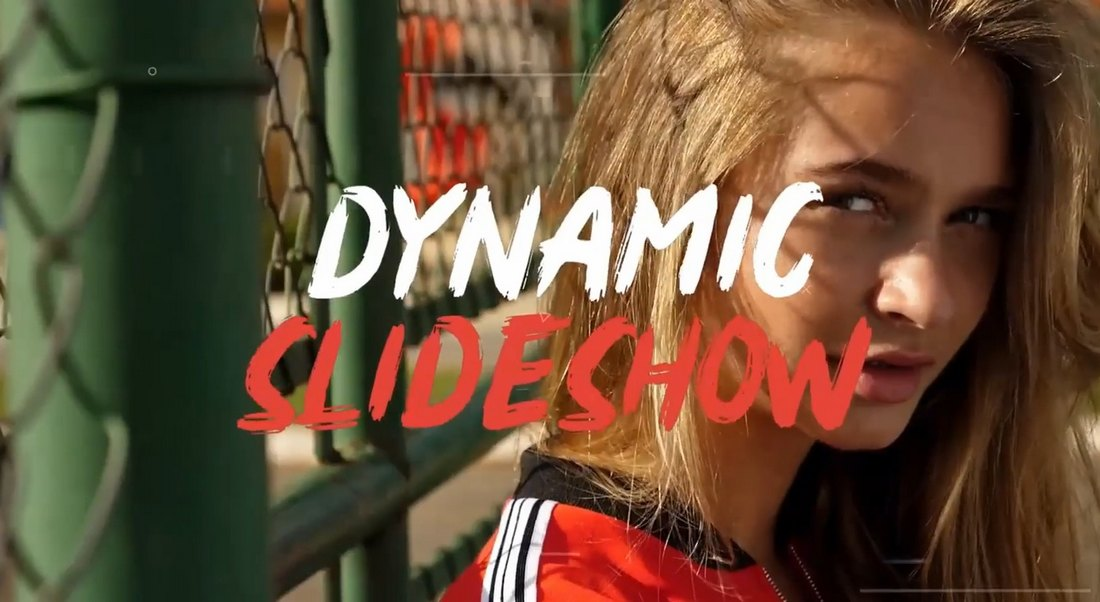 Dynamic Slideshow Template for DaVinci Resolve