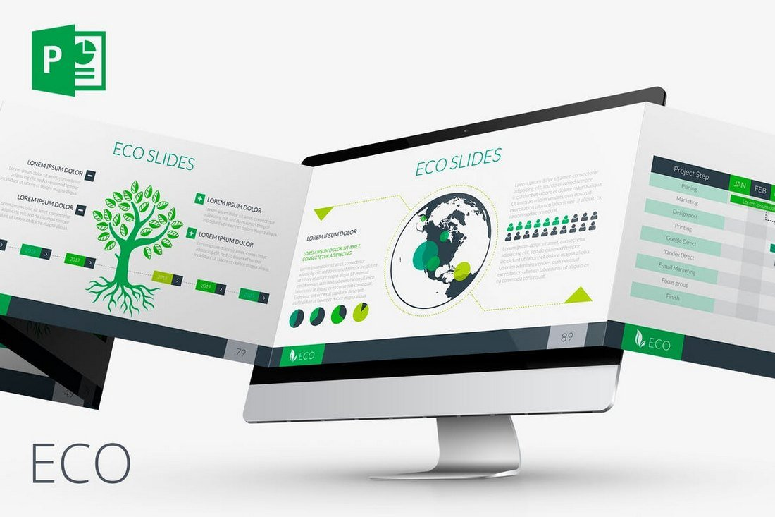 ECO-Animated-PowerPoint-Template 30+ Animated PowerPoint Templates (Free + Premium) design tips
