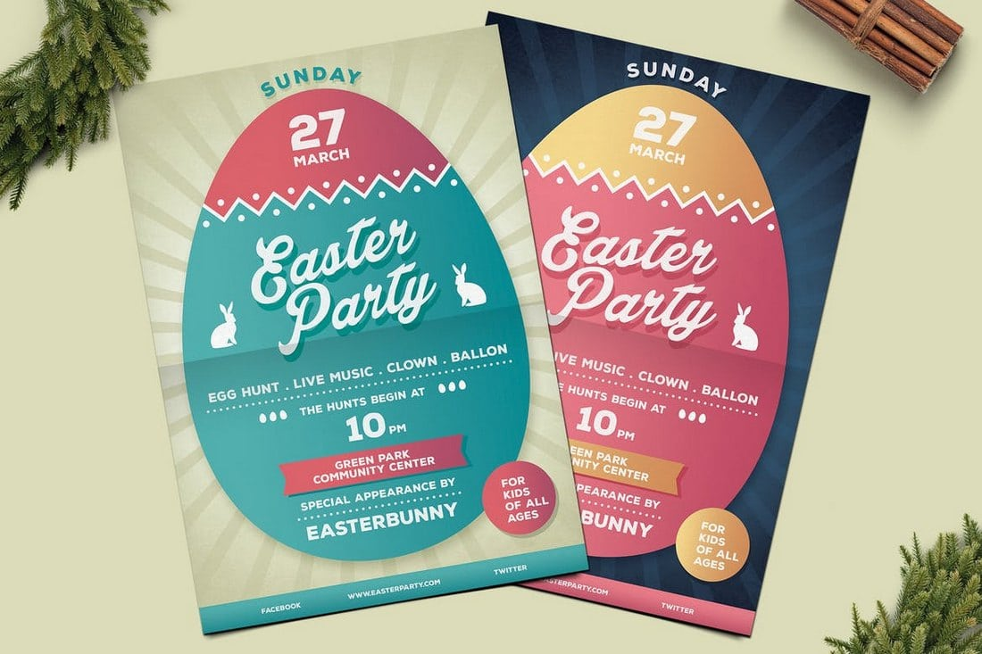 Easter-Party-Flyer 30+ Best Event Flyer Templates design tips