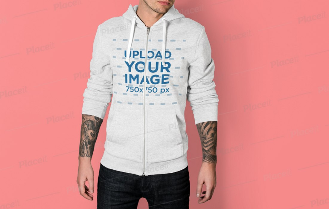 Editable-Hoodie-Mockup-With-Tattoo-Hands 20+ Hoodie Mockup Templates (Free & Premium) design tips  Inspiration