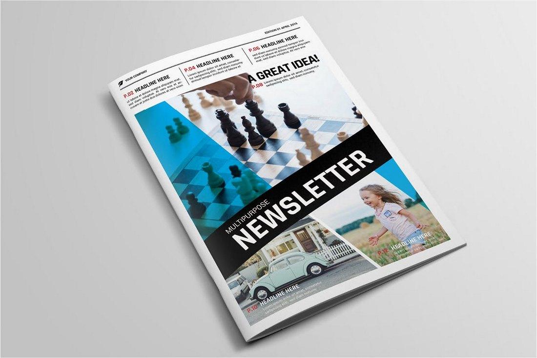 Editable-School-Newsletter-Template 20+ School Newsletter Templates design tips