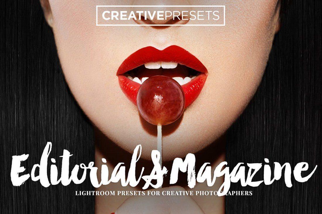Editorial-Magazine-Lightroom-Presets 40+ Best Lightroom Wedding Presets design tips