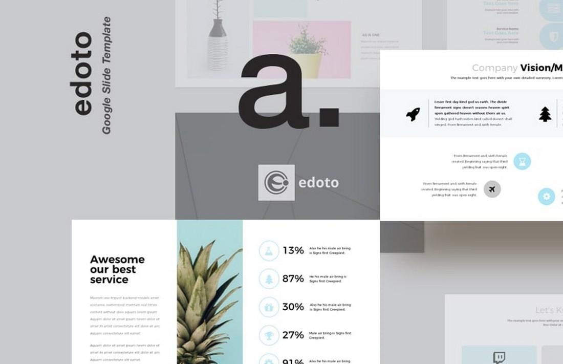 Edoto - Free Business Google Slides Template