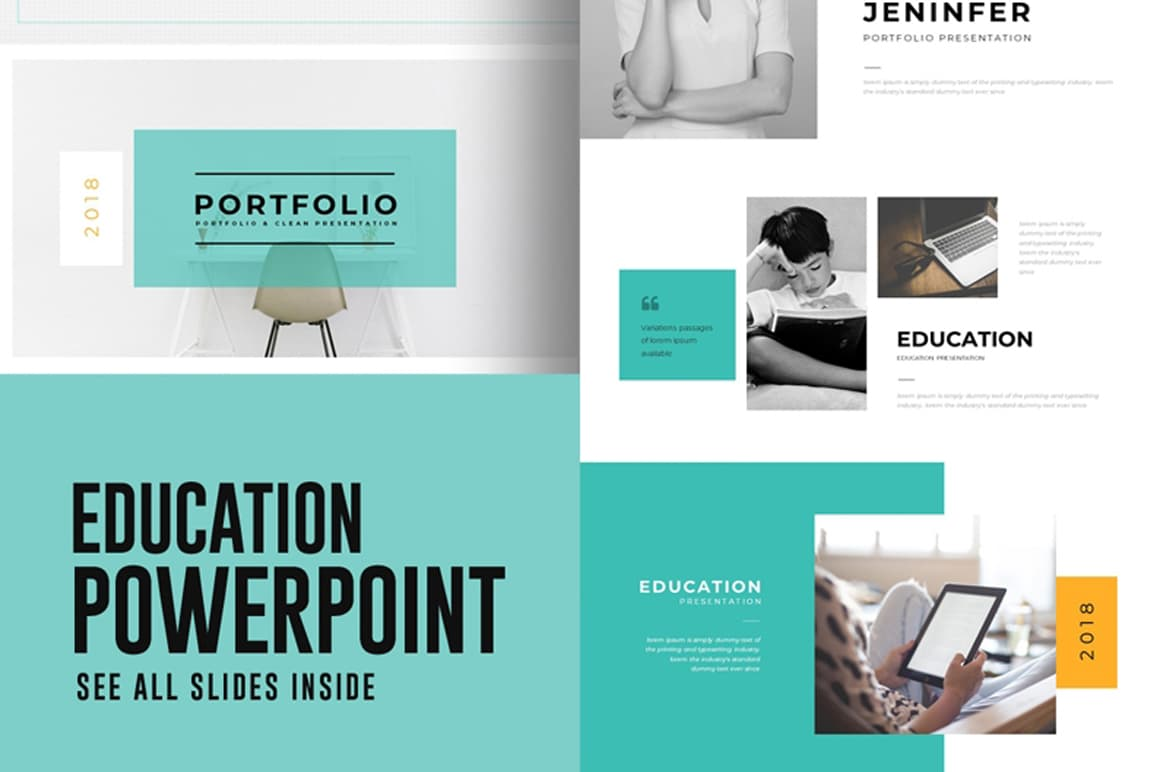 Education - Free PowerPoint Presentation Template