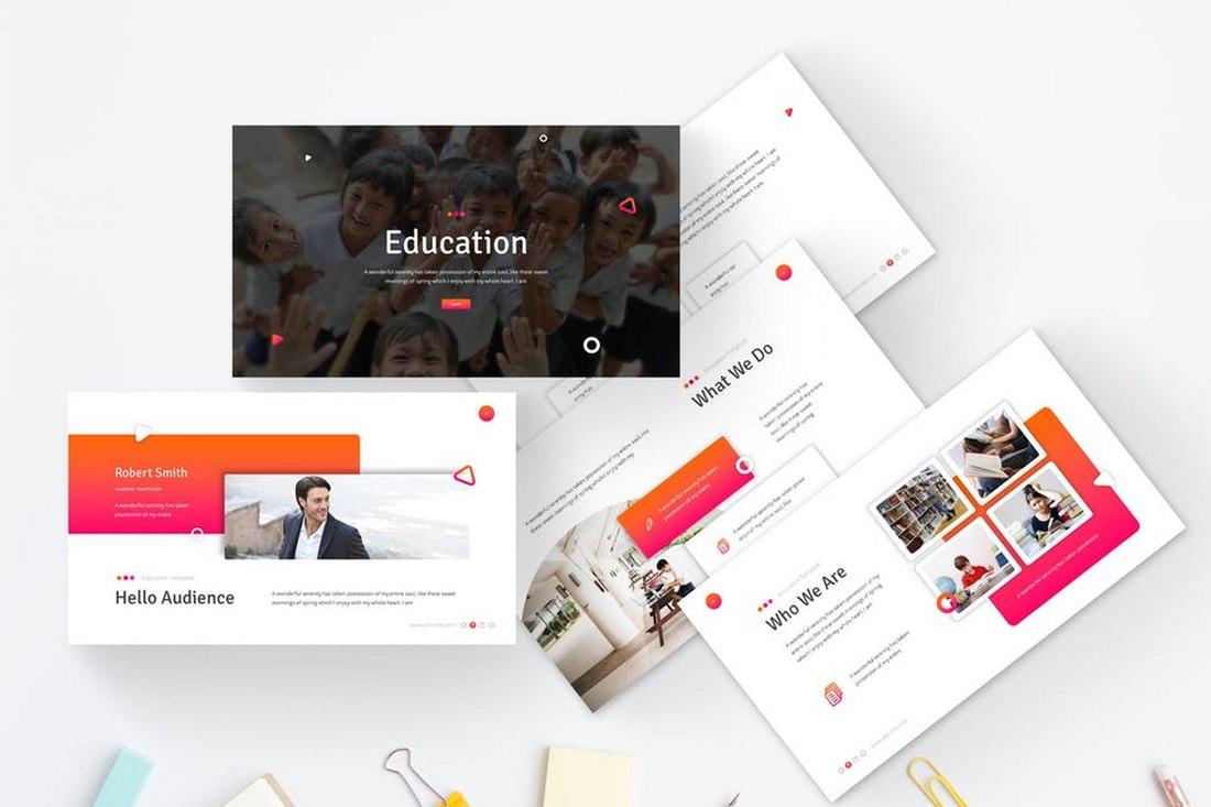 Education - Minimal Powerpoint Template