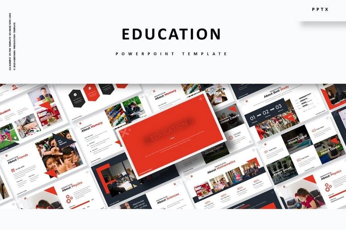 Education - Modern Powerpoint Template
