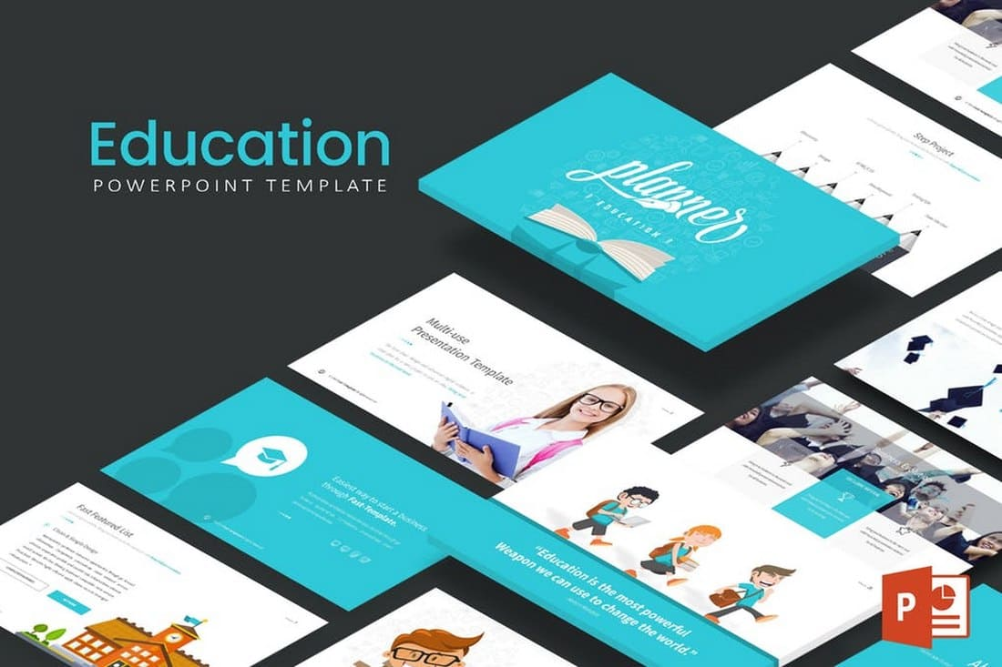 Education - Simple Powerpoint template