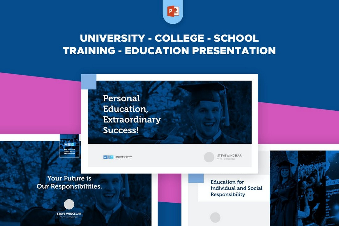 Education-Training-PowerPoint-Template 20+ Best Webinar PowerPoint Templates (Remote Presentation PPT Slides) design tips