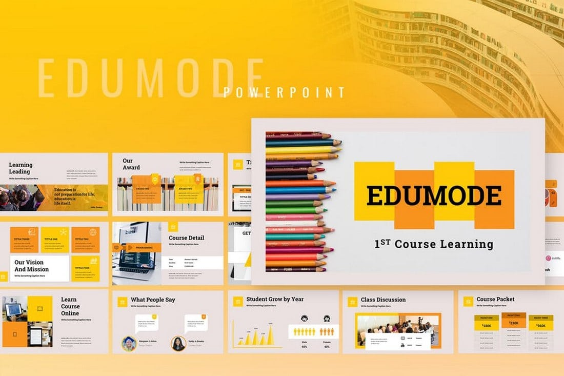 Edumode - Education Powerpoint Template