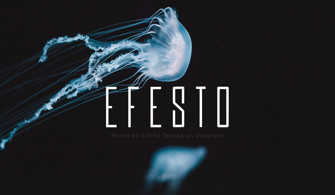 Efesto - Free Condensed Modern Font
