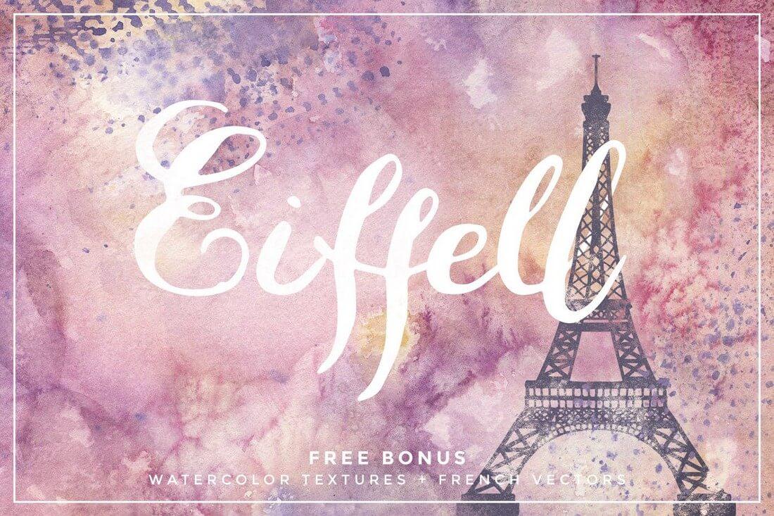 Eiffell-Brush-Script 60+ Best Big, Poster Fonts of 2019 design tips