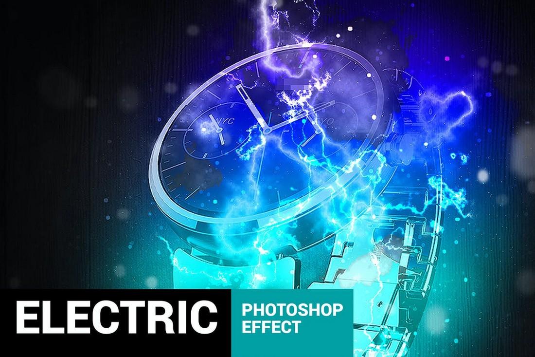 Electrum - Lightning Photoshop Action