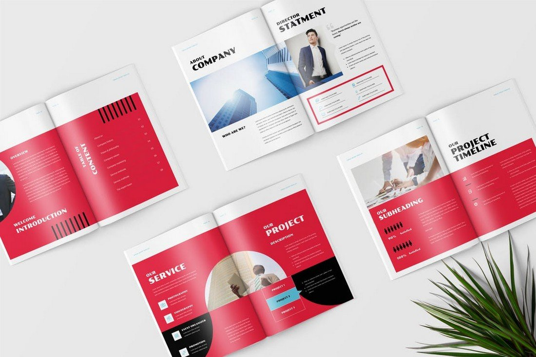 Elegant Business Annual Report Template