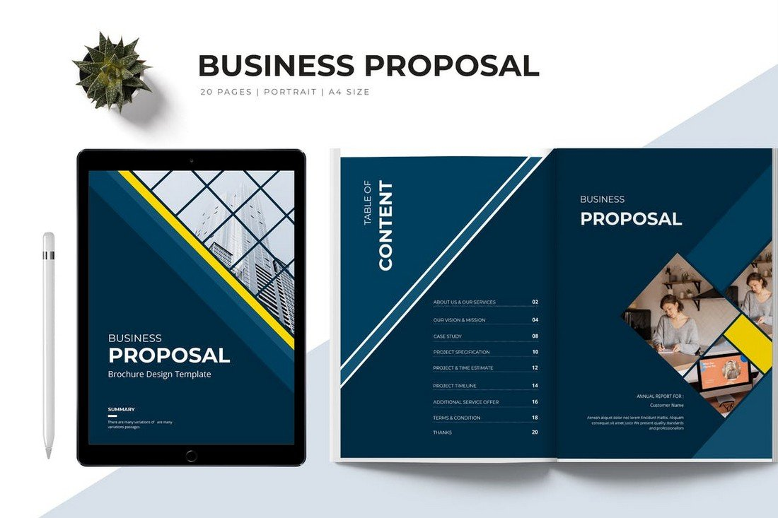 Elegant Corporate Business Proposal Template