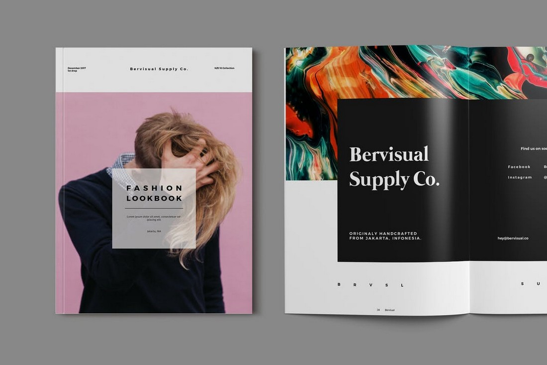 Elegant Fashion Lookbook Template