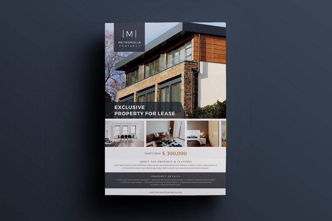 Elegant-Real-Estate-Flyer-Template 30+ Best Real Estate Flyer Templates design tips  Inspiration|flyer|property|real estate