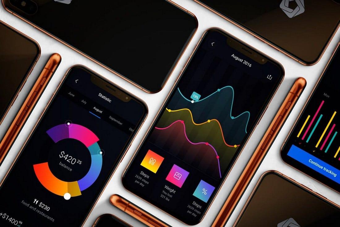 Elegant-iPhone-X-Mockup-PSD 30+ Best iPhone X Mockups (PSD, AI & Sketch) design tips