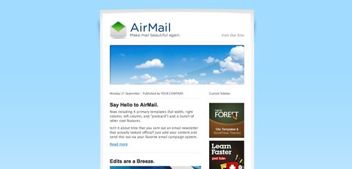 Design Lessons From HTML Email Templates That Actually Sell - How to design an email template