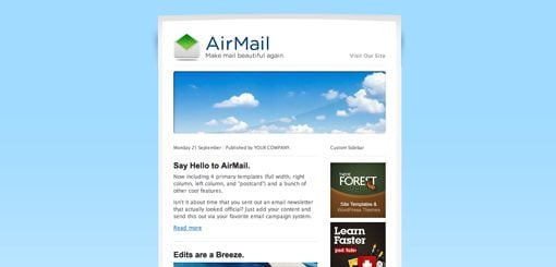 Welcome To: 10 Design Lessons From HTML Email Templates That ...