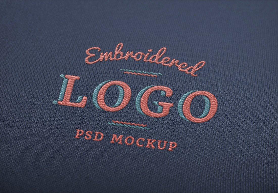 Embroidered-Logo-MockUp 100+ Logo Mockup Templates (PSD & Vector) design tips