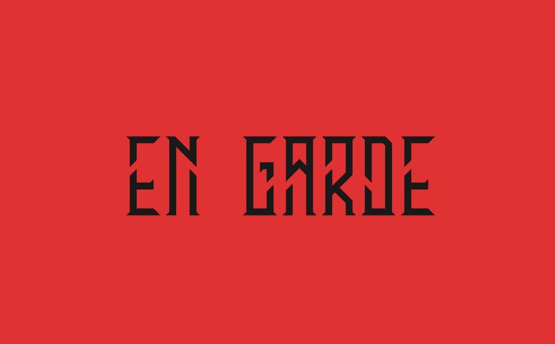 En Garde - Free Modern Condensed Font