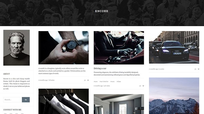Encore-Premium-Tumblr-Theme 50+ Best Free & Premium Tumblr Themes 2018 design tips
