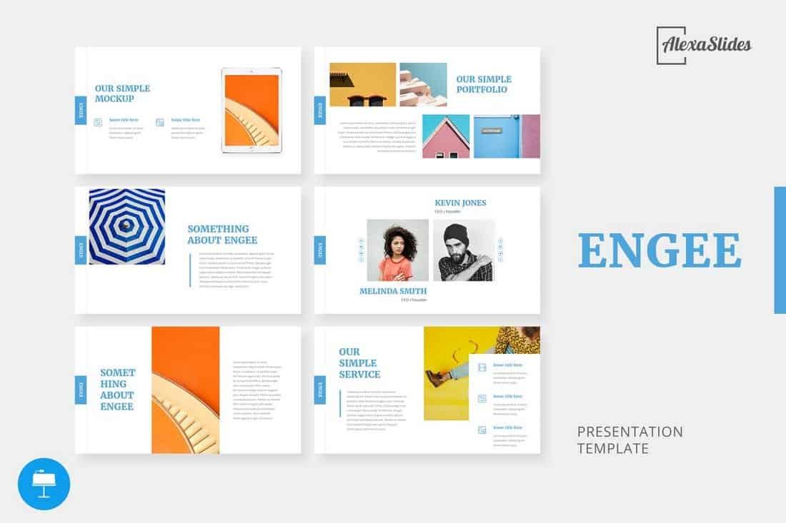 Engee - Keynote Presentation Template