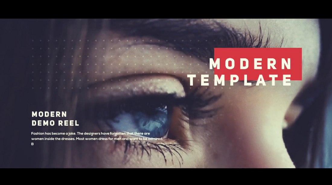 Epic Demo Reel Premiere Pro Template