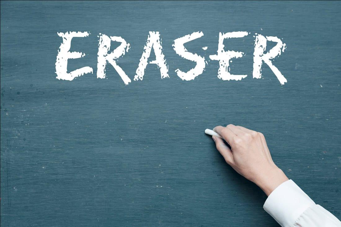 Eraser - Free Chalkboard Font