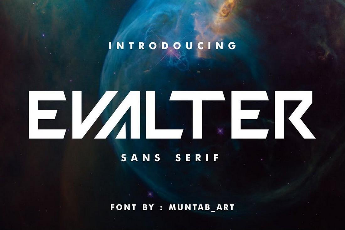 Evalter - Modern Sans Serif Font