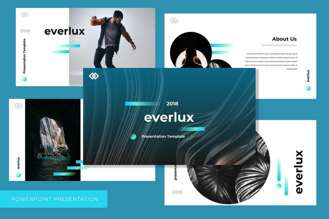 Everlux - Simple PowerPoint Template