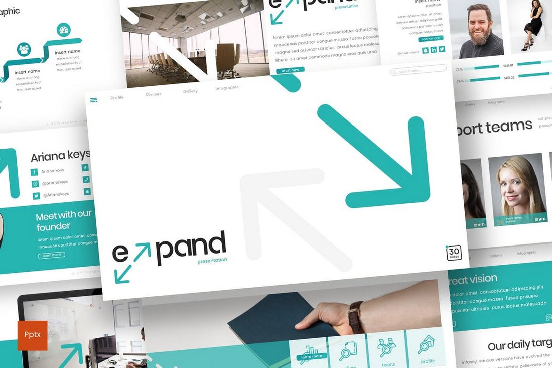 Expand - Powerpoint Template